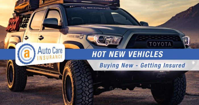 Hot New Vehicles for 2018